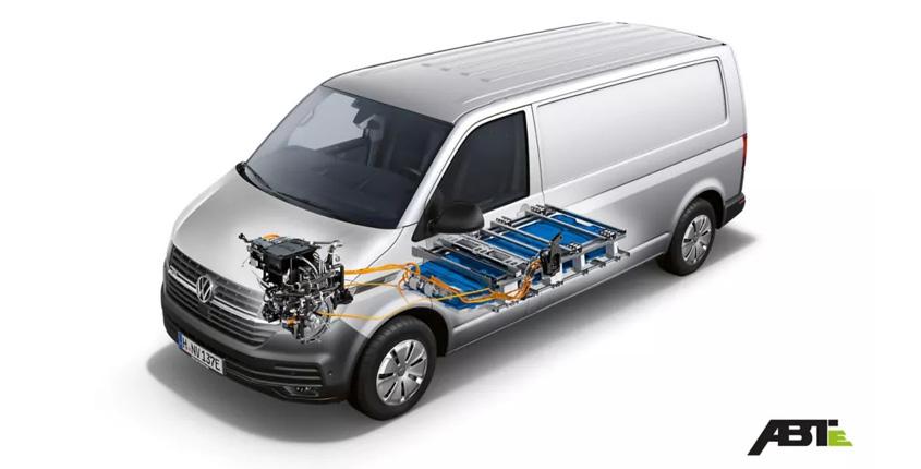 ABT e-Transporter Technische Zeichnung