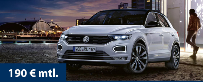 Angebot T-Roc Leasing Privat
