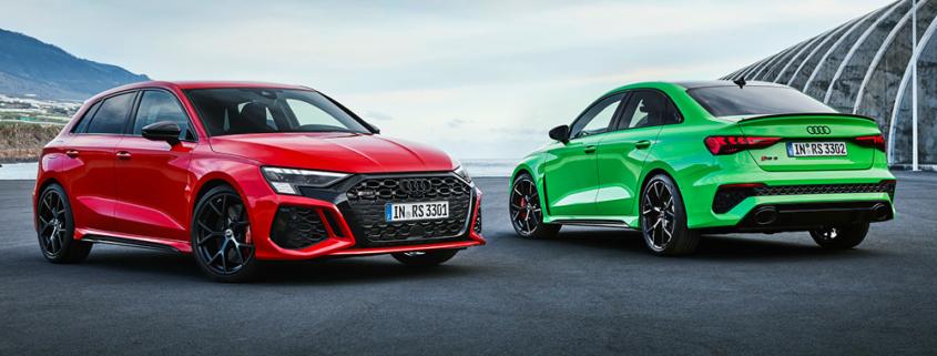 Audi RS 3 Markeinführung