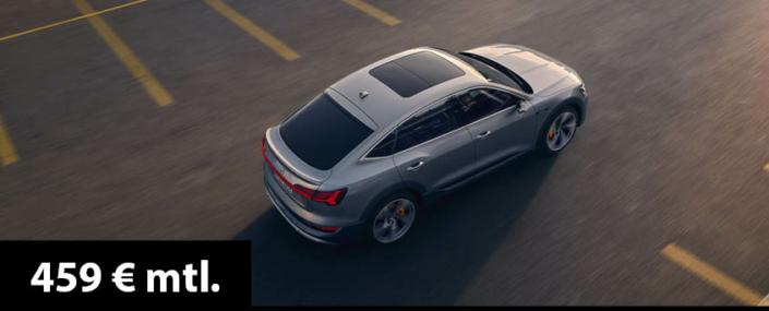 Angebot e-tron Sportback 50 privat 459