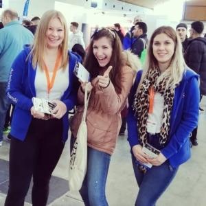 Messe Einstieg Beruf iPad Gewinnerin Valeriya