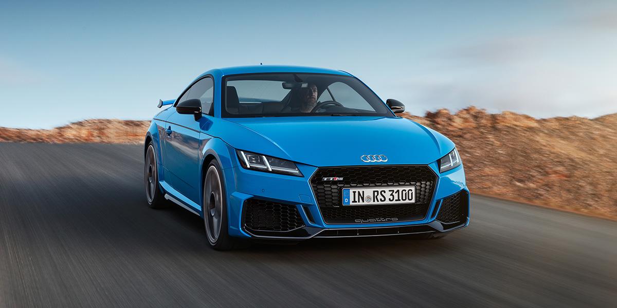 Audi TTRS 2019 Coupe Titelbild