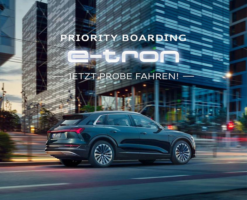 Audi e-tron Priority Boarding Beitrag 01