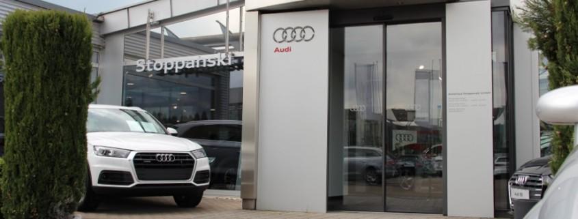 Audi Stoppanski Eingang