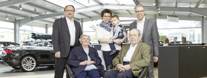 Familie Stoppanski (4 Generationen)