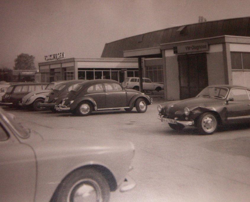 Volkswagen Stoppanski historisches Foto