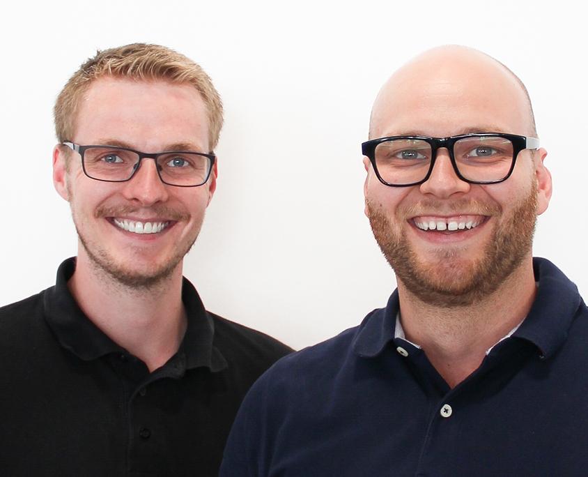 Karsten Hültenschmidt und Markus Hein