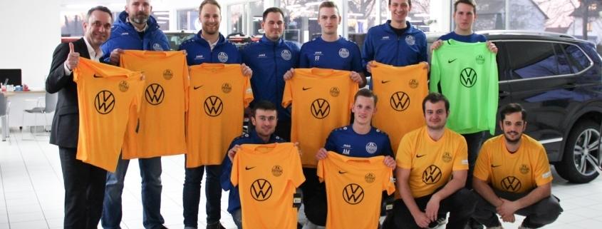 Trikotsponsoring FV Sportfreunde Forchheim
