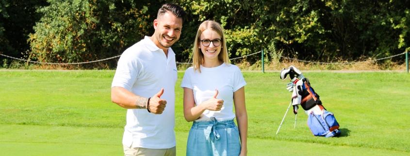 Kooperation Golfclub Hofgut Scheibenhardt Philipp Vajsman Lena Walter 01