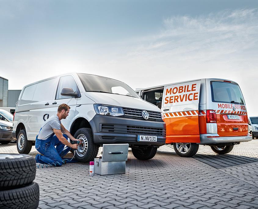 Service Plus Mobilitaet Motiv