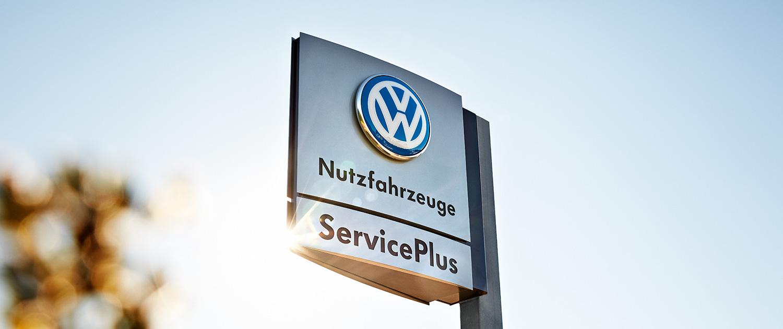 Service Plus Partner Logo Motiv