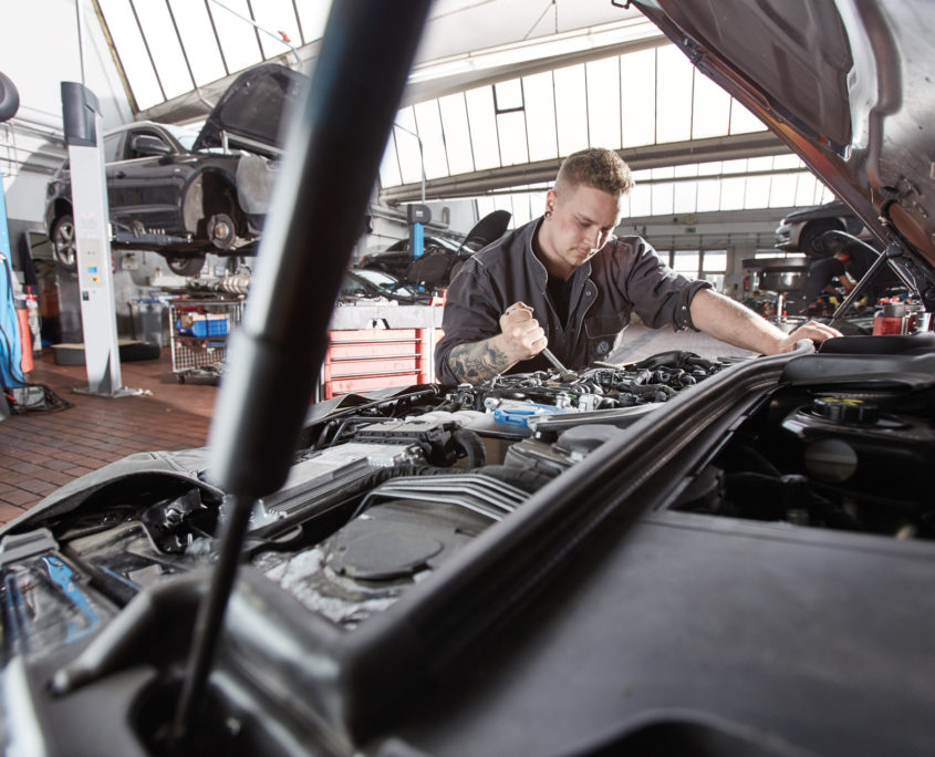 Werkstatt Mechanik Stoppanski