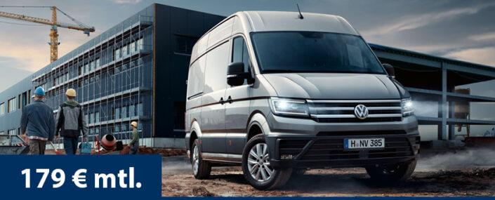 Angebot VW Crafter Gewerbekunden