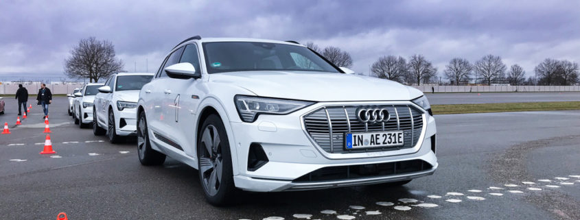 Audi e-tron Vorabprobefahrt