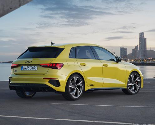 Audi S3 Heck