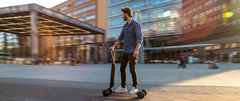 e-tron Scooter Titelbild