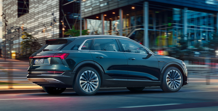 Audi e-tron Heck