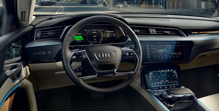 Audi e-tron Innenraum