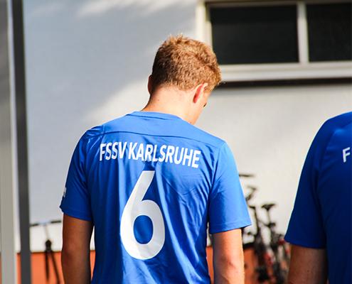 Trikotsponsoring FSSV Karlsruhe Trikot