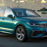 VW Tiguan News Front